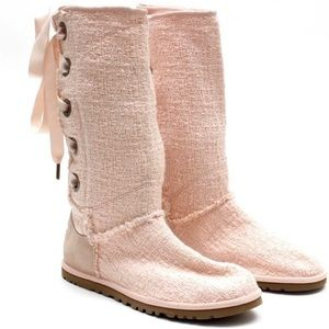 UGG Shoes - Authentic Ugg lace up bow heirloom boots 9 NWOB